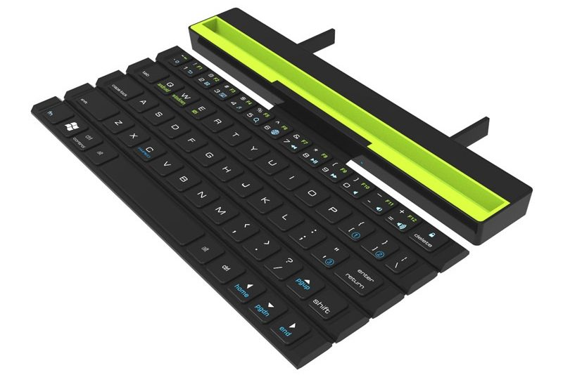 Universal Wireless Bluetooth Keyboard With Holder For Mobile Or Tablet Easylifesmart